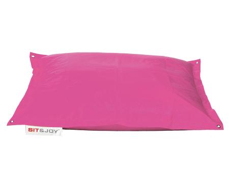 Πουφ παραλιας ροζ