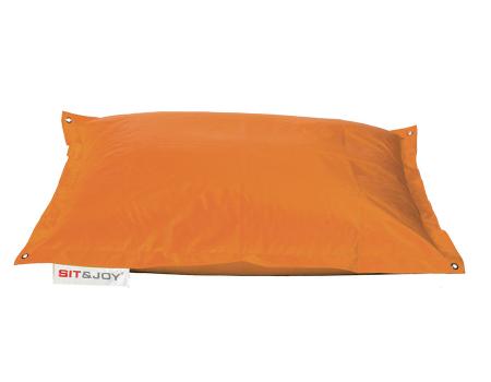 Πουφ παραλιας πορτοκαλι