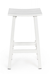 Σκαμπό Bar Skipper White 42X31X71cm