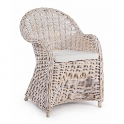 Πολυθρόνα Rattan Washed by Cap Martin