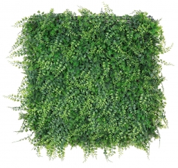 Synthetic Mix Green Grass Wall  50X50cm