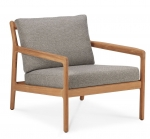 Teak Jack outdoor lounge chair mocha grey 76X90cm