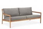 Teak Jack outdoor sofa mocha grey 180X90cm