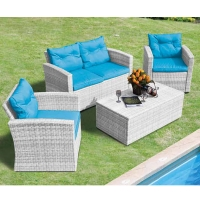 ������ wicker 4��� Soleto White