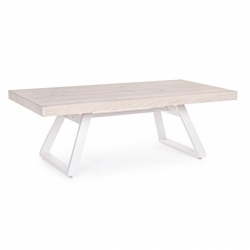 Blanche White Wash Oak Coffee Table 120X