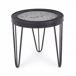 Restoration Coffee Table W-Clock D60