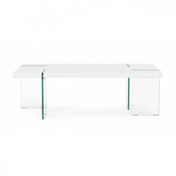 Tom White Matt Rect Coffee Table 120X60