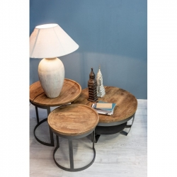 Narvik Coffee Table D65x34cm