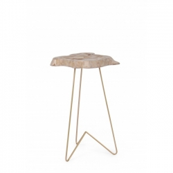 Savanna Gold High Coffee Table 50x50x50cm