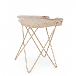 ΞύλινοCoffee Table  Savanna Gold  50x50x50cm