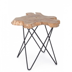Savanna Black Coffee Table 50x50x50cm