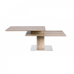 Liam Kenya Coffee Table 80/120X60