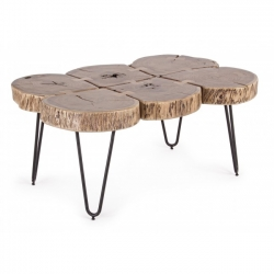 Edgar Log Coffee Table 90x60x40cm