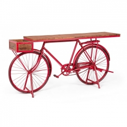 Bicycle Red Console