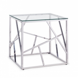 Μεταλλικό Rayan Square Coffee Table 55x55x55cm