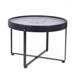 Gerald Coffee Table W-Clock D61