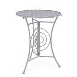 Marlene Grey Round Little Table D60