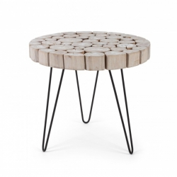 Gonzalo Coffee Table  λευκό  Φ56