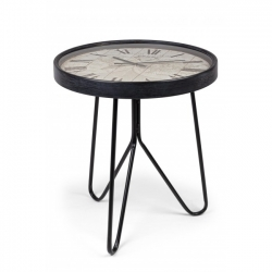 Mapping Coffee Table W-Clock D67