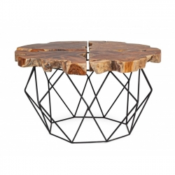 Adanya Coffee Table Teak D80x40cm