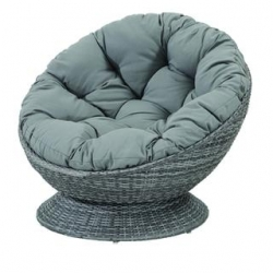 Πολυθρόνα Relax Wicker Daybed 238 Grey