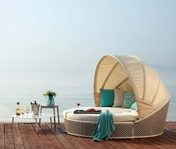 Σαλόνι wicker 4τμχ Peackock Daybed