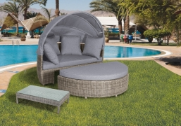 Relax Wicker Bamboo Rita Daybed
